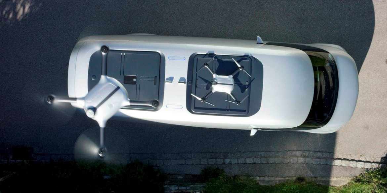 Mercedes-Benz drone