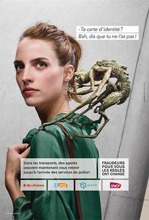 Campagne de sensibilisation anti-fraude Crédit image : ratp.fr