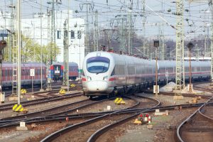 Trains sur rails