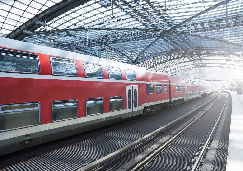 Station Train Métropole Europe Union Européenne