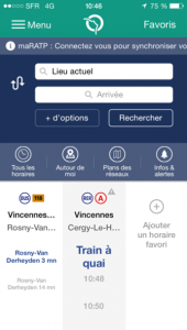 RATP-application
