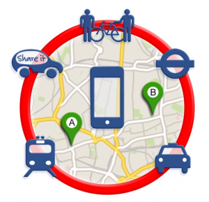 Iphone et transports urbains multiples