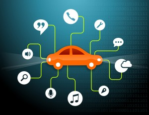 Connected car - Voiture connecte -
