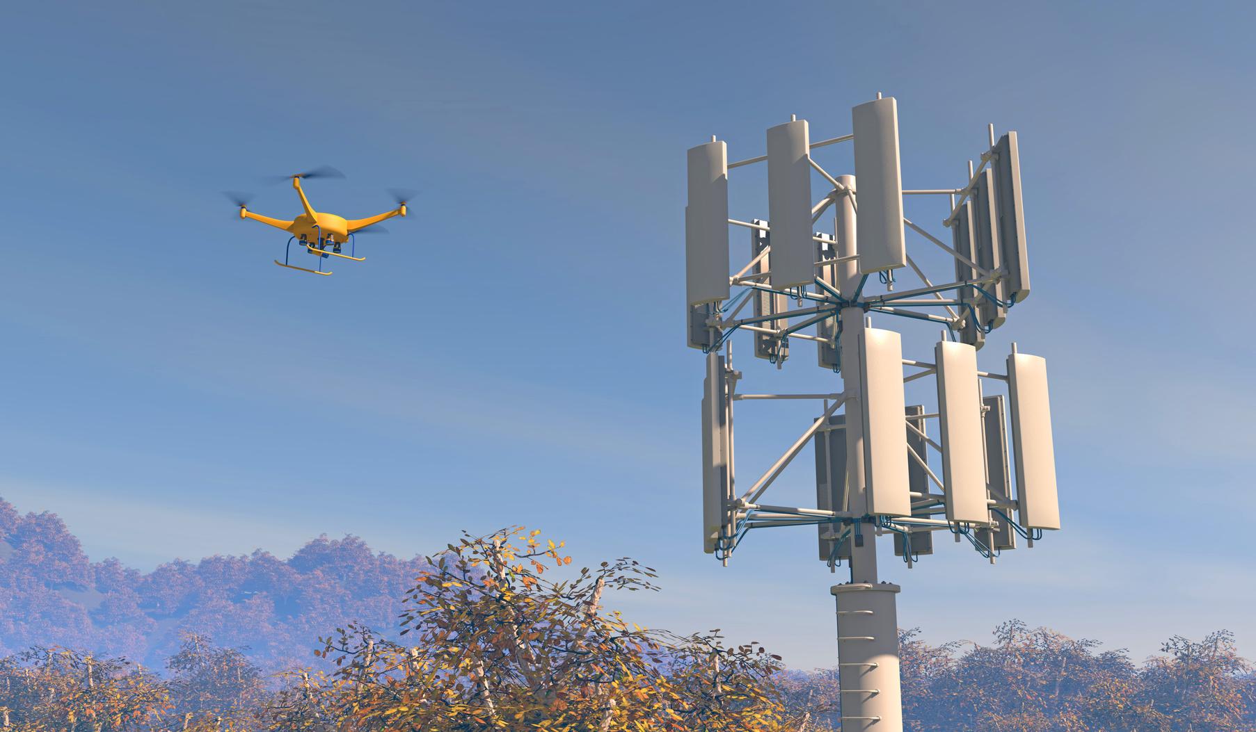 Les drones au service de la maintenance - TransportShaker