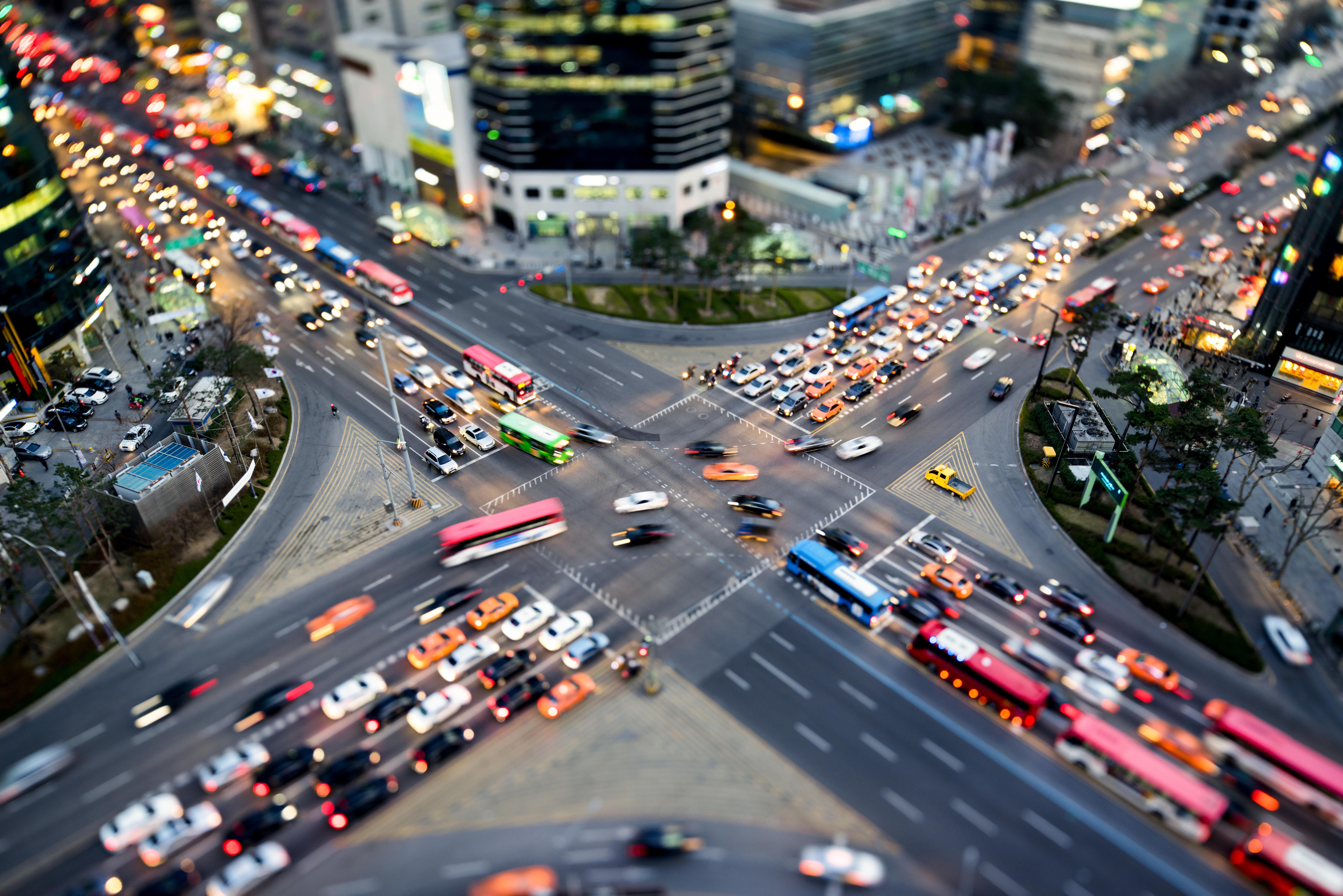 L'empreinte spatiale des transports urbains: quel espace utilisé en ville?