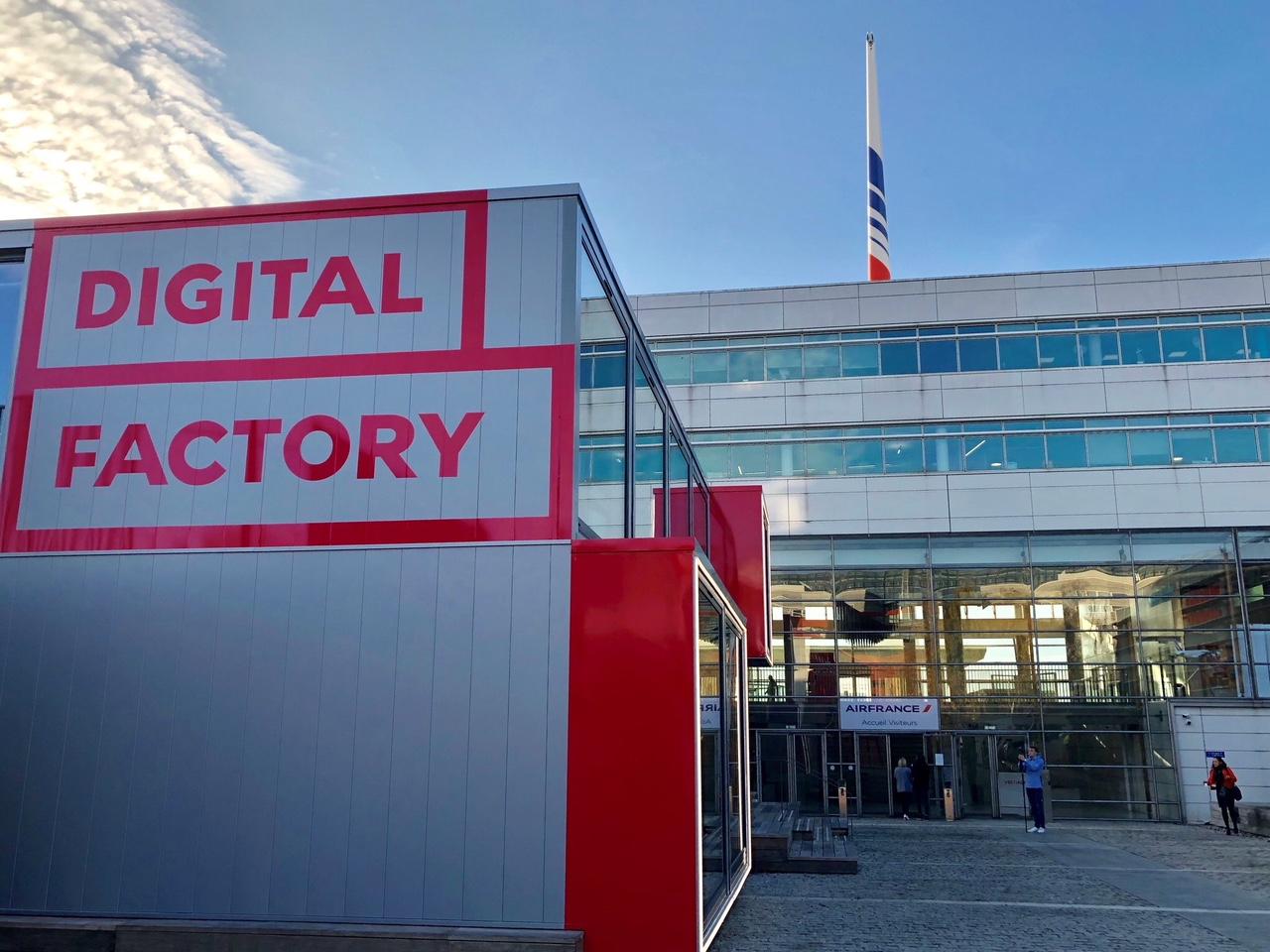 Air France inaugure sa Digital Factory