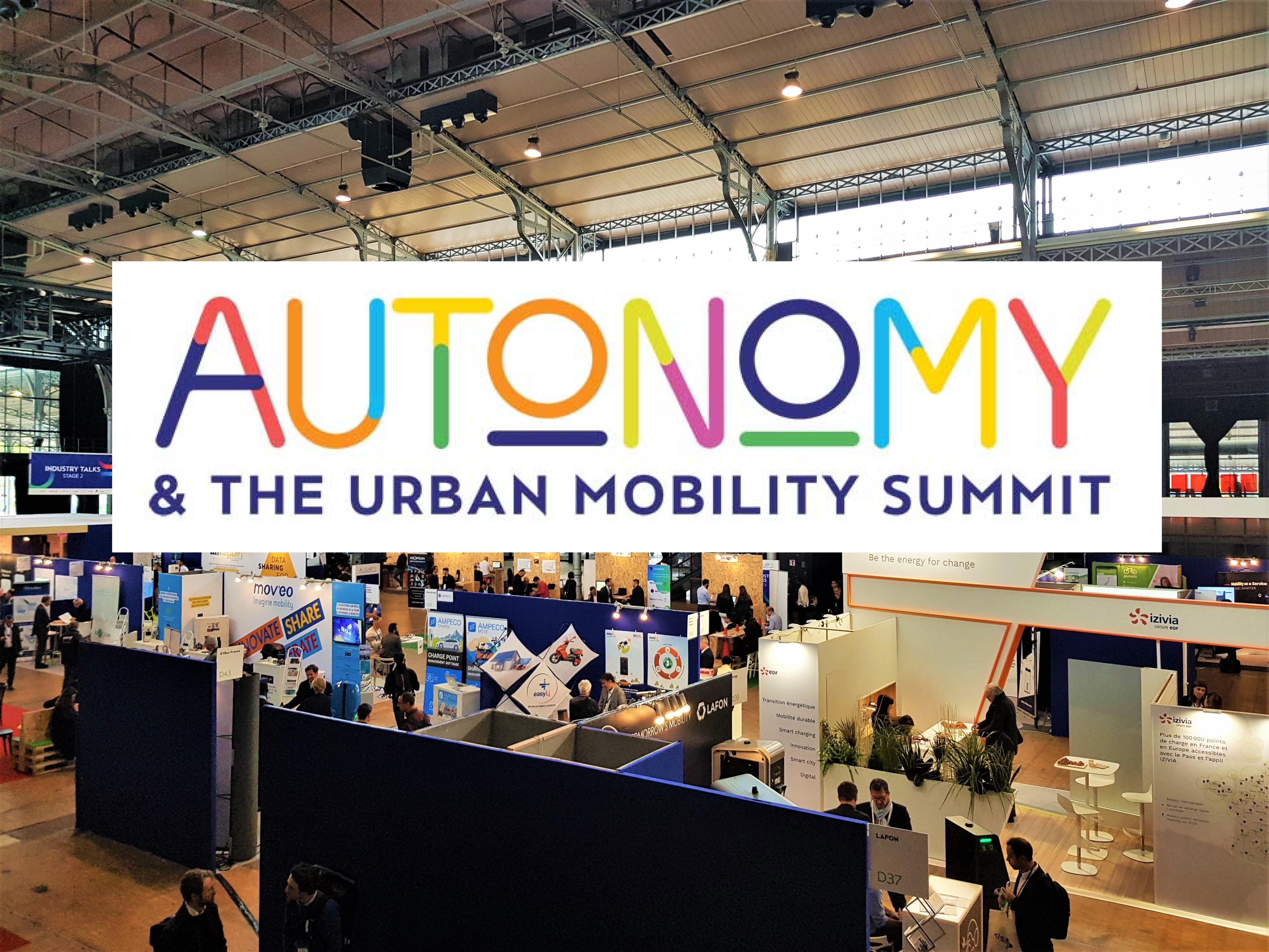 Salon Autonomy 2019 : quel futur pour la mobilité ?
