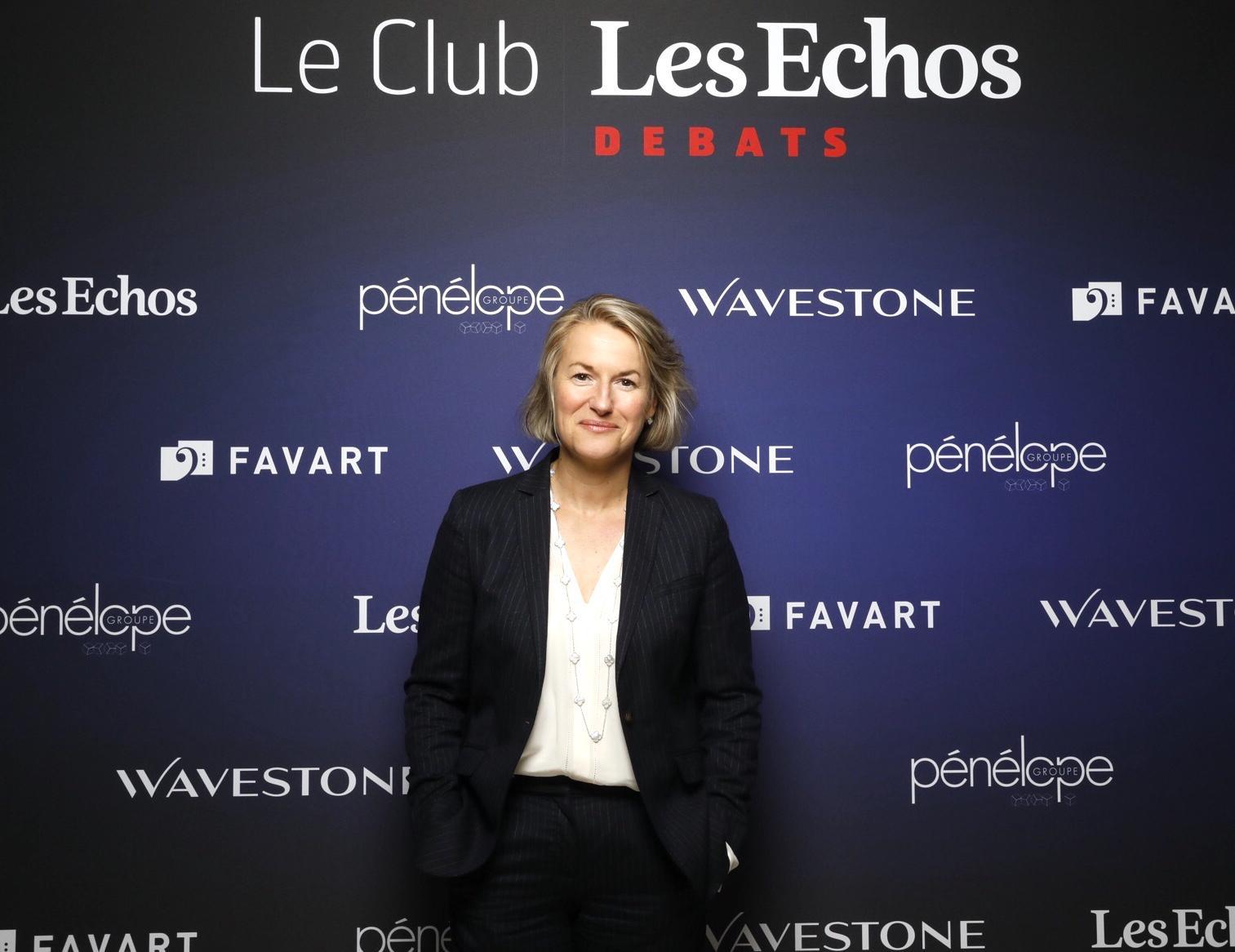 Air France face aux enjeux économiques et environnementaux : retour sur le Club Les échos avec Anne Rigail, DG D'Air France