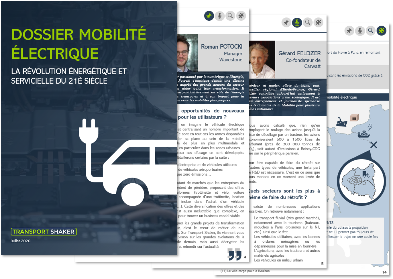 Dossier TransportShaker : mobilité electrique