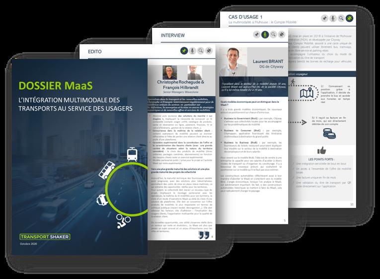 Dossier Transportshaker : MaaS – L'intégration multimodale des transports au service des usagers